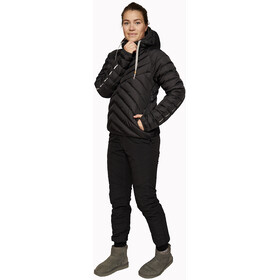 Varg Älgön Downhood Anorak Dames, carbon black
